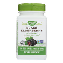 Load image into Gallery viewer, Elderberry Supplements - 100 575-mg capsules