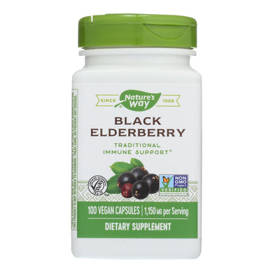 Elderberry Supplements - 100 575-mg capsules