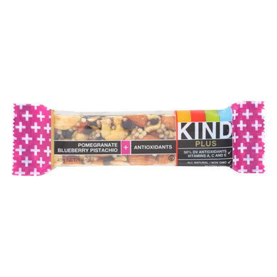 Kind Bar - Pomegranate Blueberry Pistachio Plus Anti-oxidants - Case Of 12 - 1.4 Oz