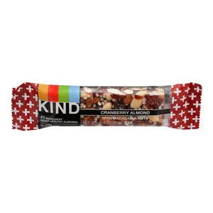 Cranberry Almond Macadamia Bar - Pack of 12 1.4-oz bars
