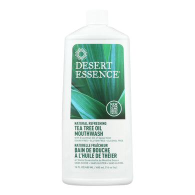 Tea Tree Mouthwash, Spearmint - 16 oz