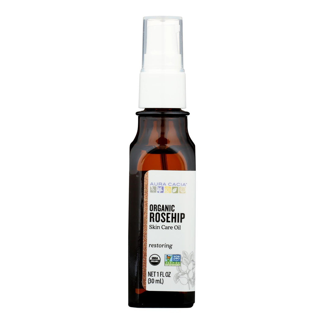 Body Oil, Organic Rosehip - 1 oz