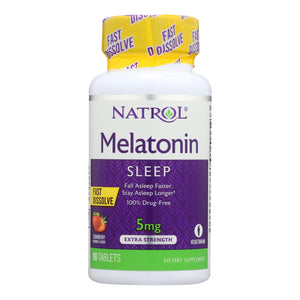 Melatonin, Quick Dissolve - 90 5-mg tablets