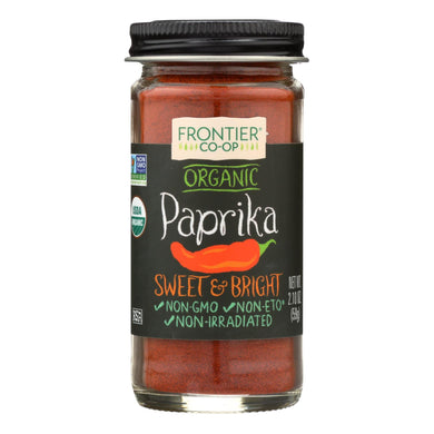 Ground Paprika, Organic - 2.1 oz jar