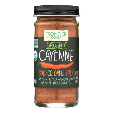 Cayenne Chili Powder, Organic - 1.7 oz jar