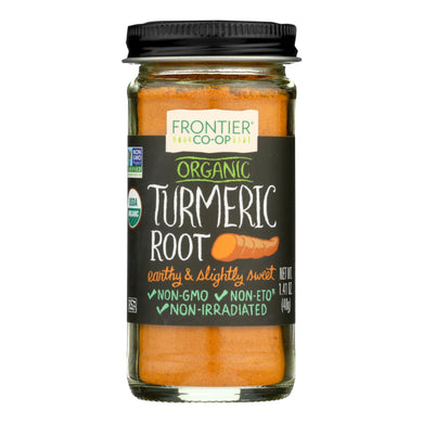 Ground Turmeric Root, Organic - 1.41 oz jar