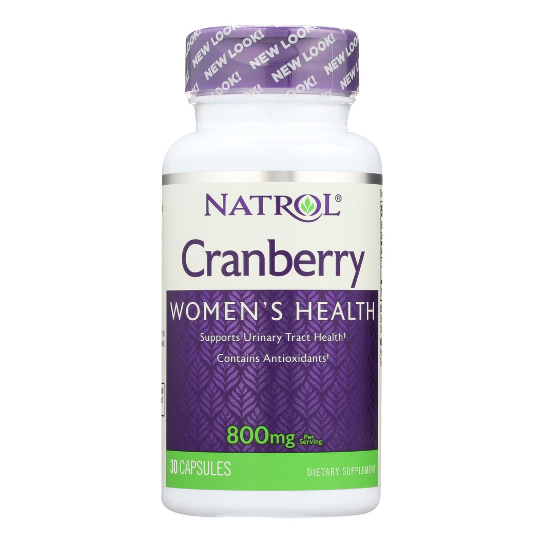 Cranberry Extract Supplements - 30 800mg capsules