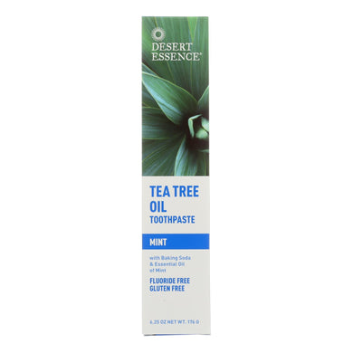Tea Tree Toothpaste, Mint - 6.25 oz