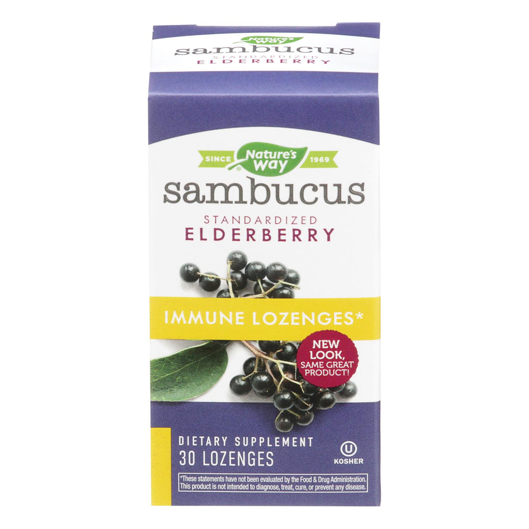 Nature's Way - Sambucus Immune Lozenges - 30 Lozenges