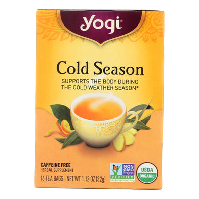 Cold Season Caffeine-Free Tea - 16 Tea Bags