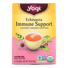 Load image into Gallery viewer, Yogi Tea Echinacea Immune Support - Caffeine Free - 16 Tea Bags