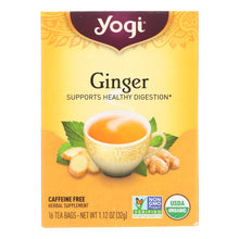 Load image into Gallery viewer, Caffeine-Free Ginger Tea - 16 Tea Bags
