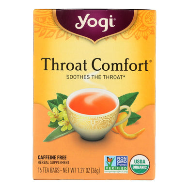 Caffeine-Free Throat Comfort Tea - 16 Tea Bags