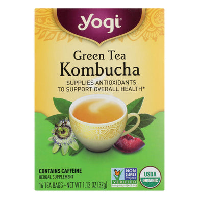 Kombucha Green Tea - 16 Tea Bags