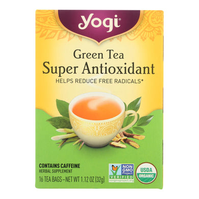Antioxidant Green Tea - 16 Tea Bags
