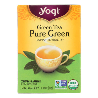 Pure Green Tea - 16 Tea Bags