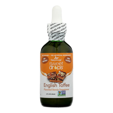 Liquid Stevia, English Toffee - 2 Fl Oz