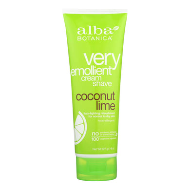 Shave Cream, Coconut Lime - 8 oz