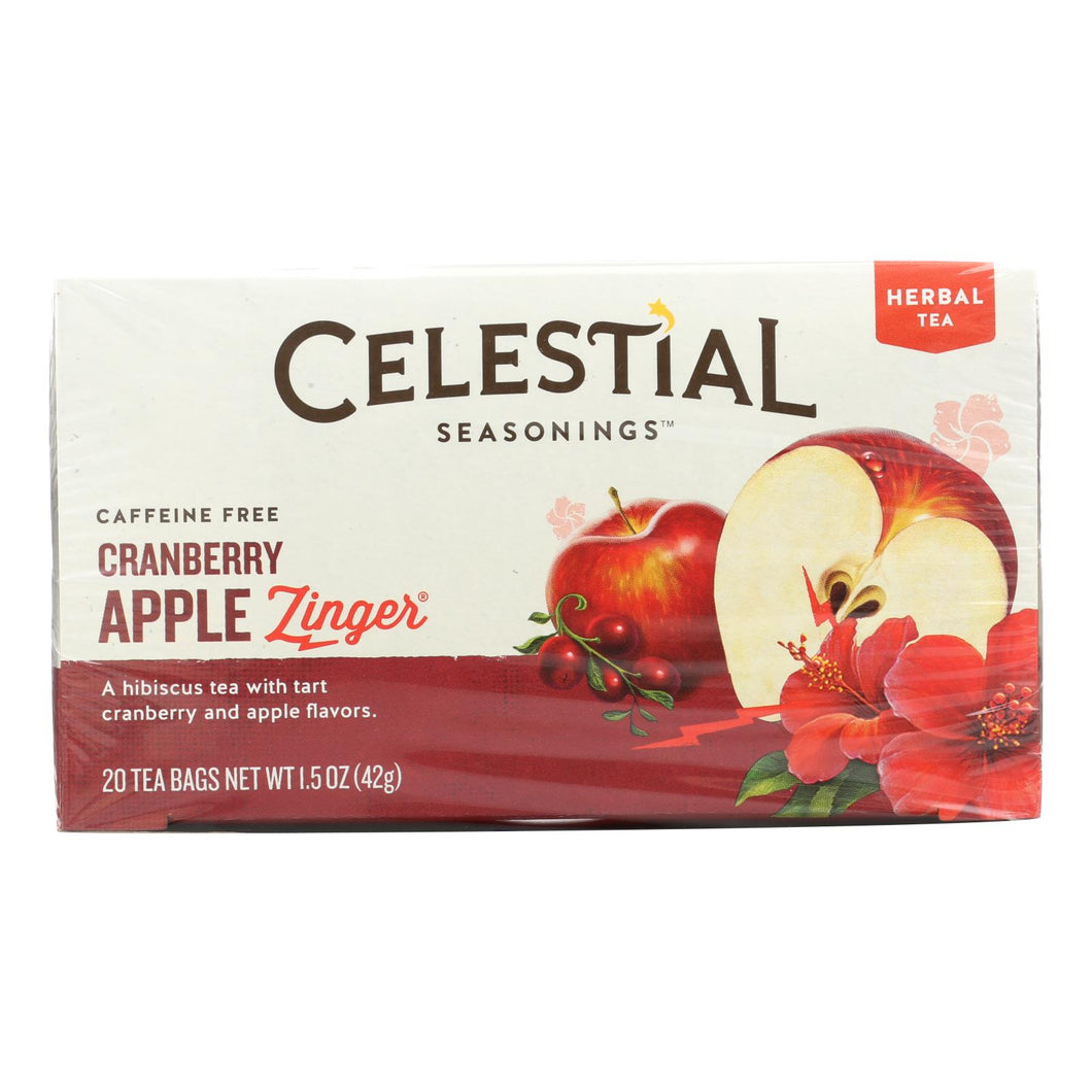 Cranberry Apple Caffeine Free Herbal Tea - 20 Bags