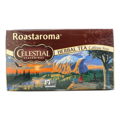Celestial Seasonings Herbal Tea - Roastaroma - Caffeine Free - 20 Bags