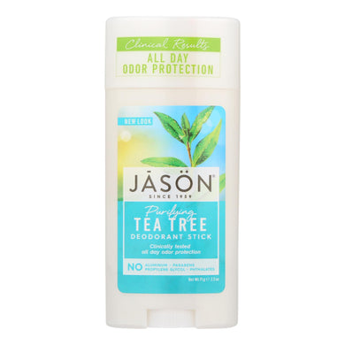 Deodorant Stick, Tea Tree - 2.5 oz