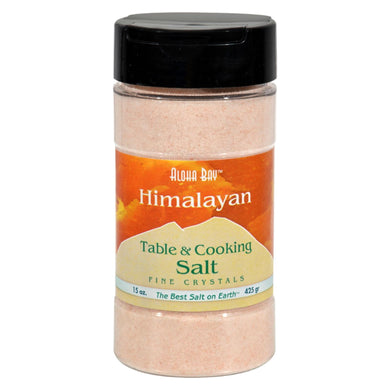 Himalayan Table and Cooking Salt, Fine- 15 oz