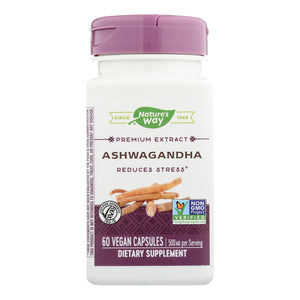 Ashwagandha Supplement - 60 capsules