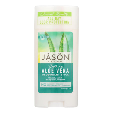 Deodorant Stick, Aloe - 2.5 oz