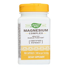 Load image into Gallery viewer, Magnesium Complex - 100 capsules