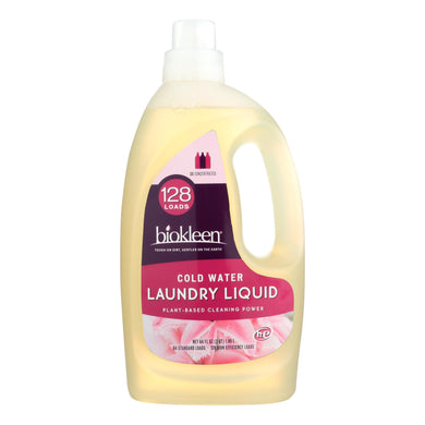 Plant-Based Liquid Laundry Detergent for Cold Water - 64 oz