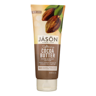Jason Hand And Body Lotion Cocoa Butter - 8 Fl Oz