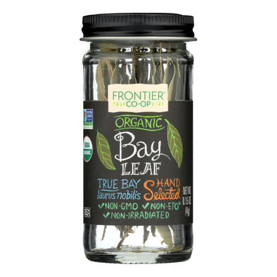 Whole Bay Leaf, Organic - 0.15 oz jar