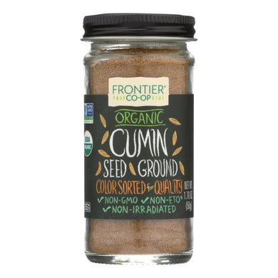 Ground Cumin, Organic - 1.76 oz jar