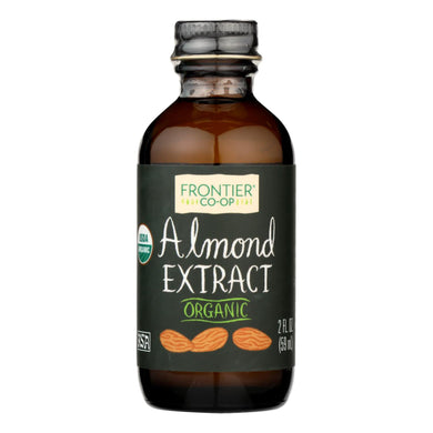 Almond Extract, Organic - 2 oz bottle