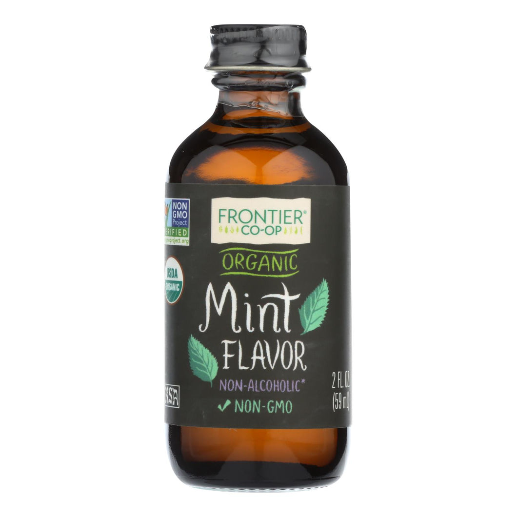 Mint Flavor, Organic - 2 oz bottle