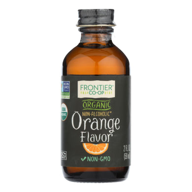 Frontier Herb Orange Flavor - Organic - 2 Oz