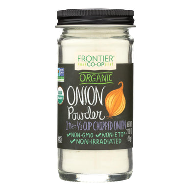 Onion Powder, Organic - 2.10 oz jar