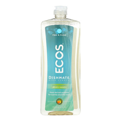 Natural Dish Soap, Free and Clear - 25 oz
