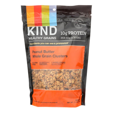 Kind Healthy Grains Peanut Butter Whole Grain Clusters - 11 Oz - Case Of 6