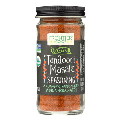 Tandoori Masala Seasoning, Organic - 1.8 oz jar