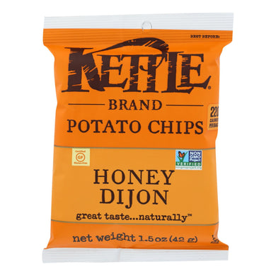 Kettle Chips, Honey Dijon - Pack of 24 1.5-oz bags