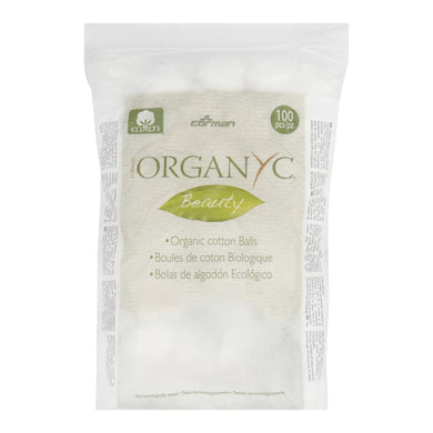 Organic Cotton Balls - 100 count