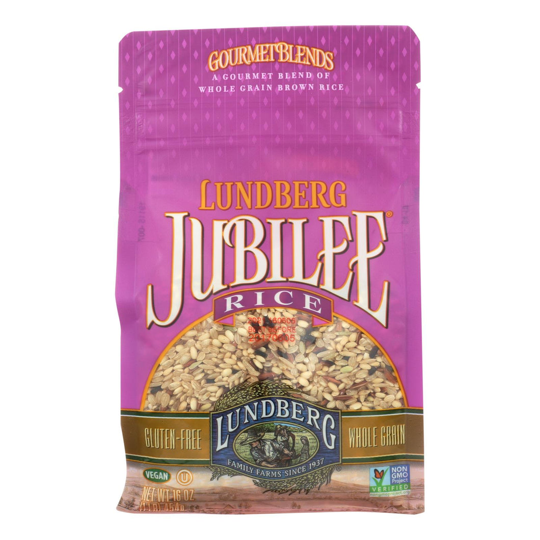 Lundberg Family Farms Jubilee Rice - Case Of 6 - 1 Lb.