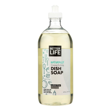 Dish Soap, Unscented - 22 oz