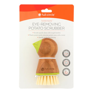 Potato Brush with Eye Remover