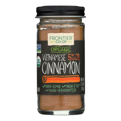 Ground Vietnamese Cinnamon, Organic - 1.31 oz jar