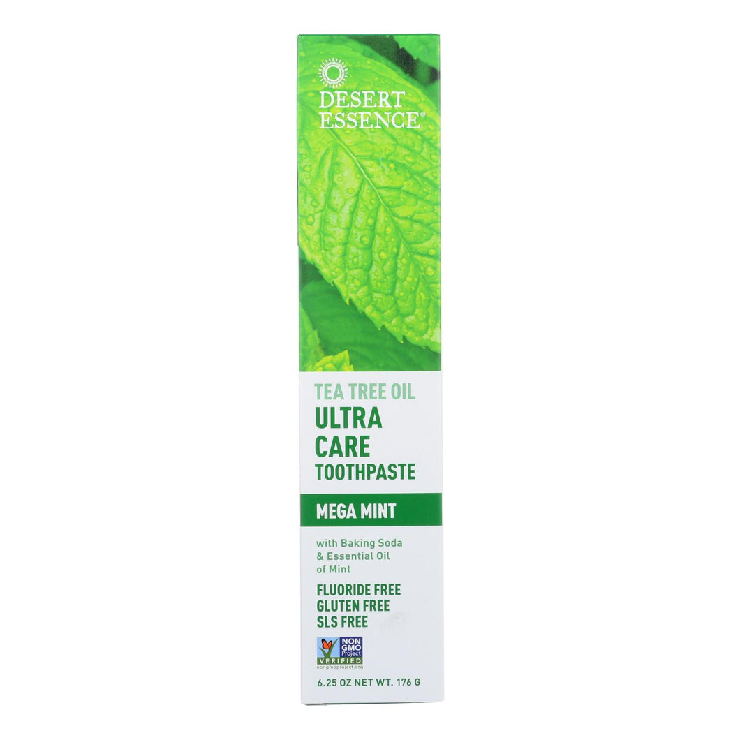 Desert Essence - Toothpaste - Tea Tree U-care Mint - 6.25 Oz
