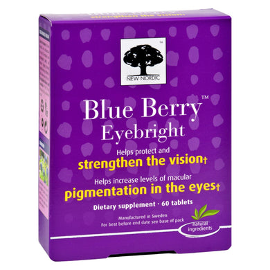 Blueberry Eyebright Supplement - 60 Tablets