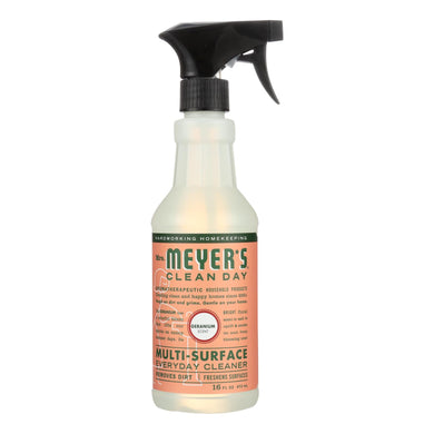 Multi-Surface Spray Cleaner, Geranium - 16 oz bottle