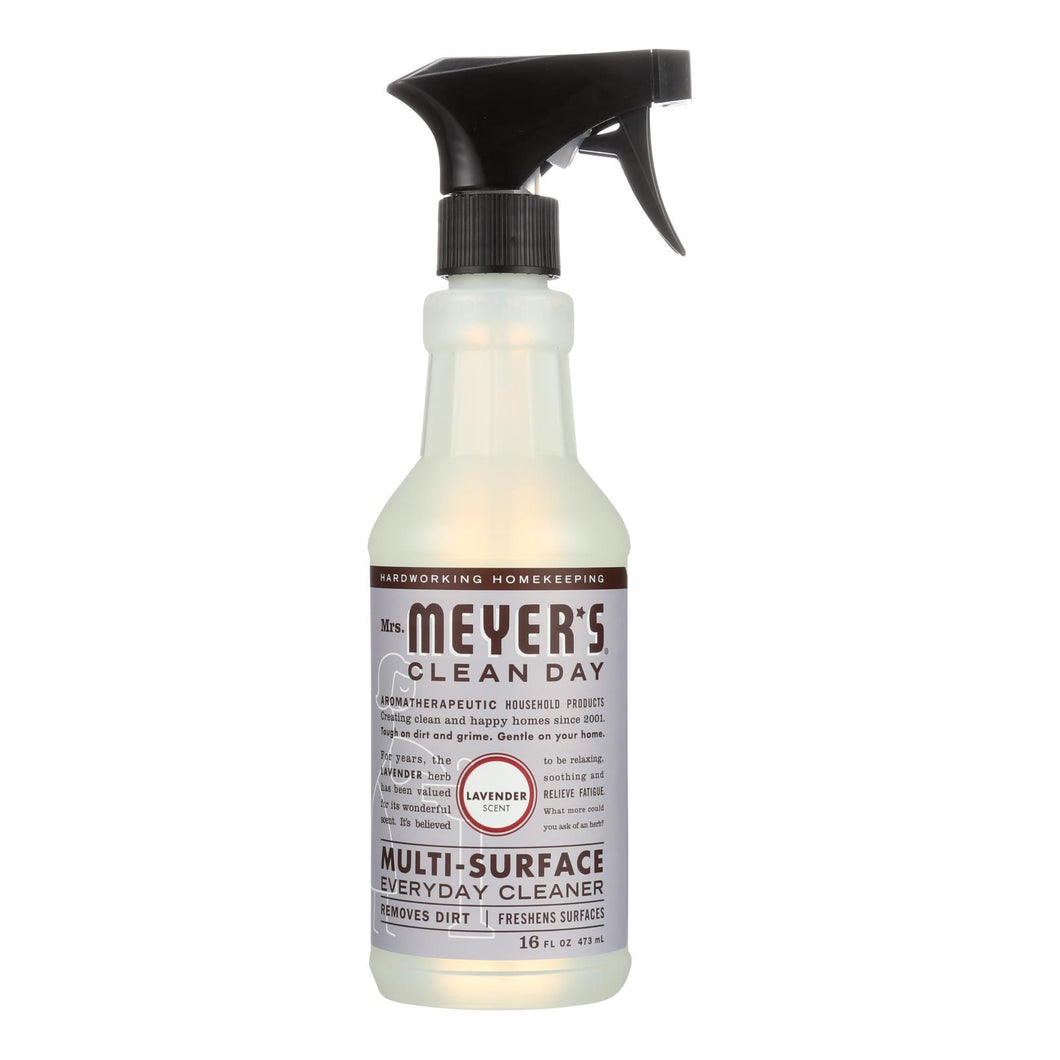 Multi-Surface Spray Cleaner, Lavender - 16 oz bottle